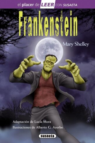 Portada FRANKENSTEIN - MARY SHELLEY - SUSAETA