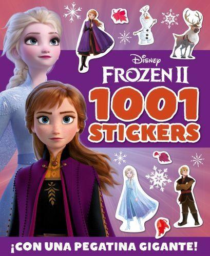 Portada FROZEN 2. 1001 STICKERS - DISNEY - LIBROS DISNEY