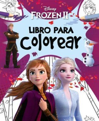 Portada FROZEN 2. LIBRO PARA COLOREAR - DISNEY - LIBROS DISNEY