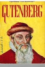 Portada GUTENBERG - ROMULO HORCAJA - EDICIONES G.P