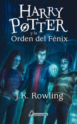 Portada HARRY POTTER Y LA ORDEN DEL FENIX - ROWLING J K - SALAMANDRA