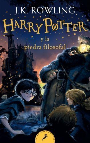 Portada HARRY POTTER Y LA PIEDRA FILOSOFAL (HARRY POTTER 1) - J.K. ROWLING - SALAMANDRA DE BOLSILLO