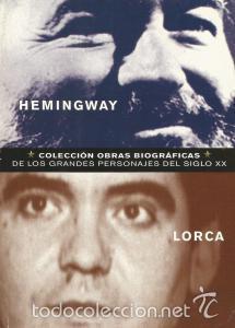 Portada HEMINGWAY  LORCA - IGNACIO GUZMAN SANGUINETTI - CLUB INTERNACIONAL DEL LIBRO