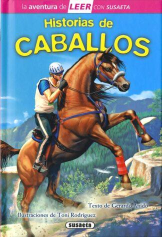 Portada HISTORIAS DE CABALLOS -  - SUSAETA