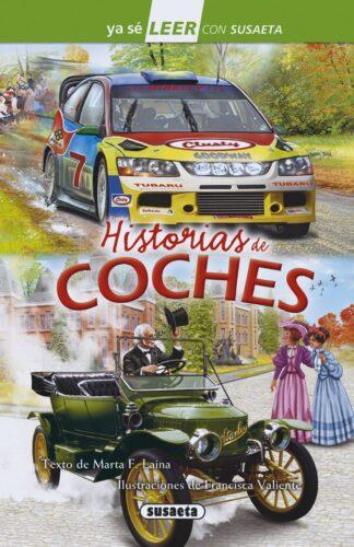 Portada HISTORIAS DE COCHES - MARTA F. LAINA - SUSAETA