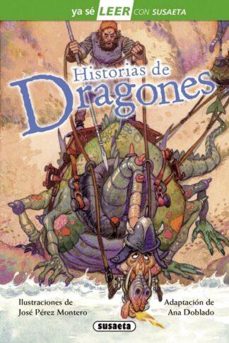 Portada HISTORIAS DE DRAGONES - SUSAETA, EQUIPO - SUSAETA