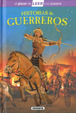 Portada HISTORIAS DE GUERREROS -  - SUSAETA
