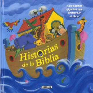 Portada HISTORIAS DE LA BIBLIA - SUSAETA, EQUIPO - SUSAETA