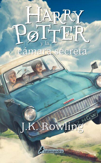Portada HP CAMARA SECRETA - ROWLING J K - SALAMANDRA
