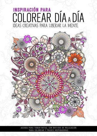 Portada -INSPIRACION PARA COLOREAR DIA A DIA - INSPIRACION - EQUIPO EDITORIAL - LIBSA