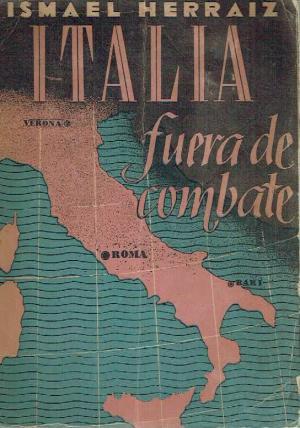 Portada ITALIA FUERA DE COMBATE - ISMAEL HERRAIZ - ATLAS