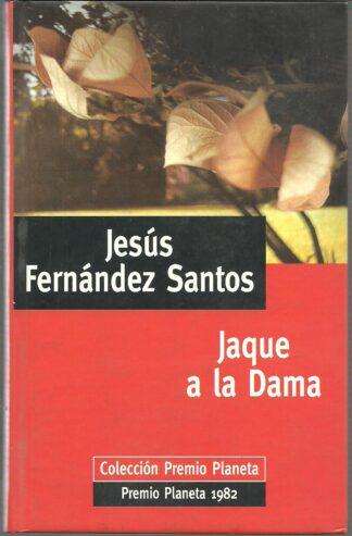 Portada JAQUE A LA DAMA - JESUS FERNANDEZ SANTOS - PLANETA