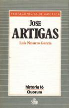 Portada JOSE ARTIGAS - LUIS NAVARRO GARCIA - QUORUM