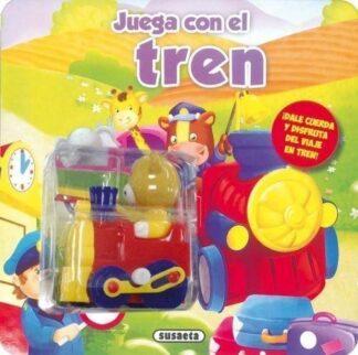 Portada JUEGA CON EL TREN - SUSAETA, EQUIPO - SUSAETA