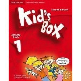 Portada KID'S BOX 1 ACTIVITY BOOK WITH CD-ROM (2ND ED.) - NIXON, CAROLINE - CAMBRIDGE UNIVERSITY PRESS