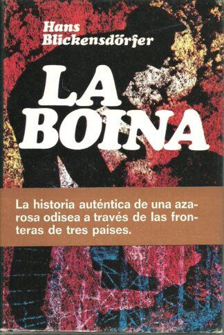 Portada LA BOINA - HANS BLICKENSDORFER - PLAZA Y JANES