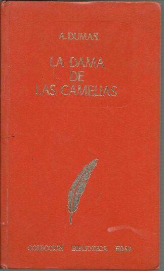 Portada LA DAMA DE LAS CAMELIAS - ALEJANDRO DUMAS - EDAF