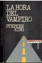 Portada LA HORA DEL VAMPIRO - STEPHEN KING - CIRCULO DE LECTORES