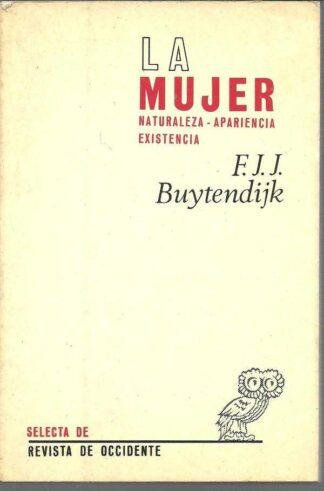 Portada LA MUJER - F.J.J. BUYTENDIJK - REVISTA DE OCCIDENTE