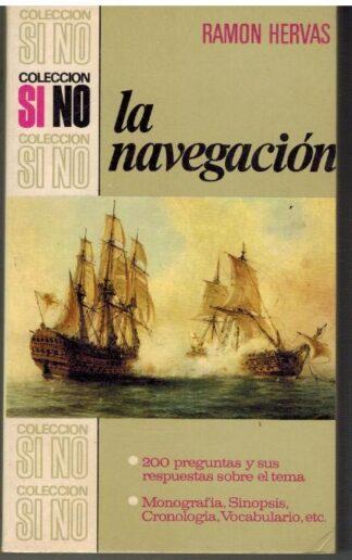 Portada LA NAVEGACION - RAMON HERVAS - BRUGUERA