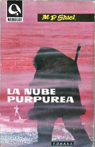 Portada LA NUBE PURPUREA - M P SHIEL - EDHASA