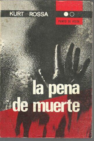 Portada LA PENA DE MUERTE - KURT ROSSA - NOVA TERRA