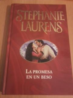 Portada LA PROMESA EN UN BESO - STEPHANIE LAURENS - EDICIONES B