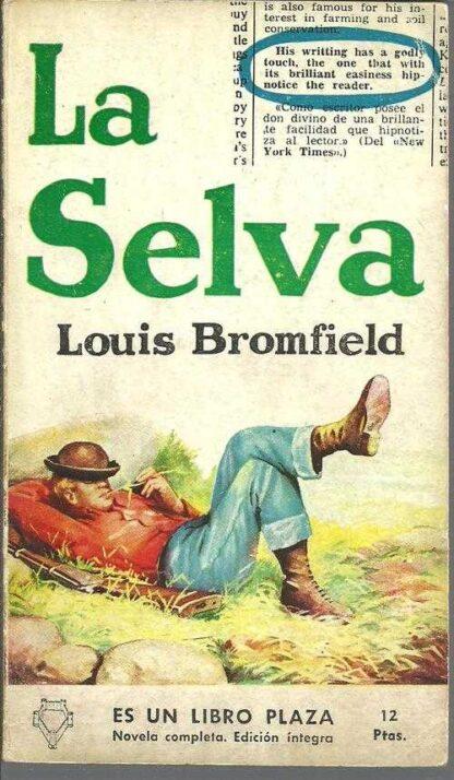 Portada LA SELVA - LOUIS BROMFIELD - EDICIONES G.P