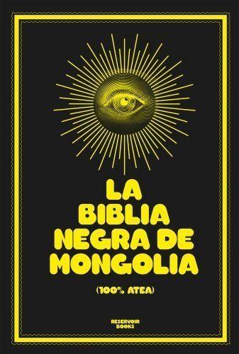 Portada LA BIBLIA NEGRA DE MONGOLIA - MONGOLIA - ROJA Y NEGRA