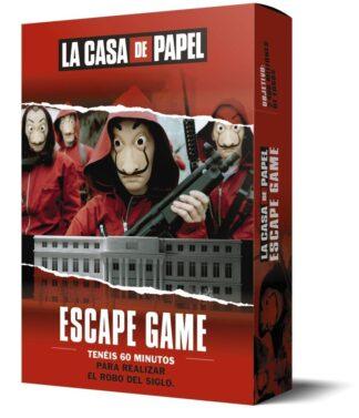 Portada LA CASA DE PAPEL. ESCAPE GAME - LAROUSSE EDITORIAL -