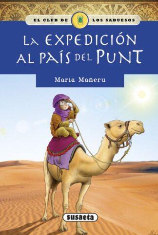 Portada LA EXPEDICION AL PAIS DEL PUNT - MARIA MAÑERU - SUSAETA