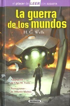 Portada LA GUERRA DE LOS MUNDOS - H. G. WELLS - SUSAETA