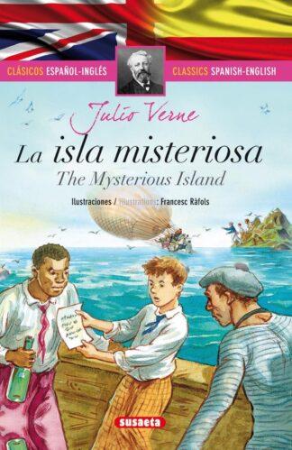 Portada LA ISLA MISTERIOSA (ESPAÑOL/INGLÉS) - JULIO VERNE - SUSAETA