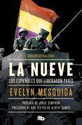 Portada LA NUEVE. EDICIONES B - MESQUIDA, EVELYN - EDICIONES B