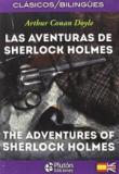 Portada LAS AVENTURAS DE SHERLOCK HOLMES  THE ADVENTURES OF SHERLOCK HOLMES - ARTHUR CONAN DOYLE - PLUTON