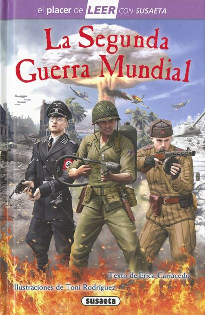Portada LA SEGUNDA GUERRA MUNDIAL -  - SUSAETA