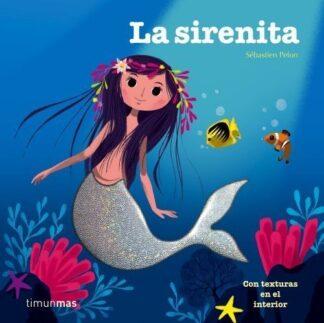 Portada LA SIRENITA (TEXTURAS) -  - CIRCULO DE LECTORES