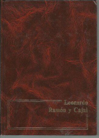 Portada LEONARDO DA VINCI  RAMON Y CAJAL - KENNETH CLARK - NAJERA