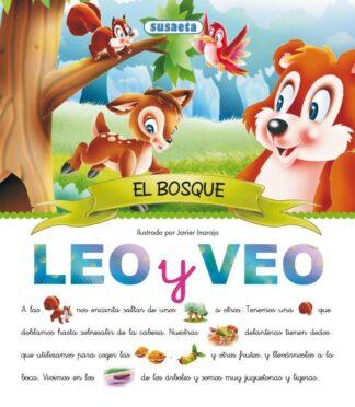 Portada LEO Y VEO:EL BOSQUE. SUSAETA - VARIOS - SUSAETA