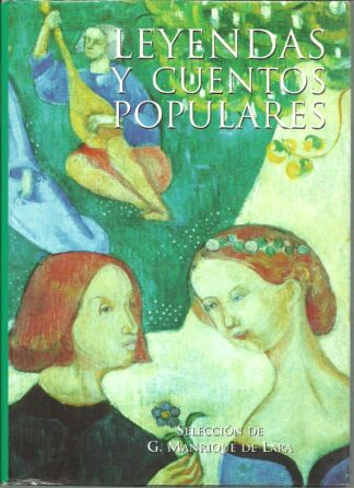 Portada LEYENDAS Y CUENTOS POPULARES - G. MANRIQUE DE LARA (SELECCION) - OPTIMA