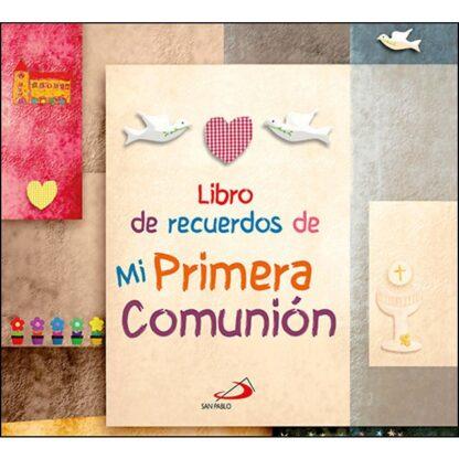 Portada LIBRO DE RECUERDOS DE MI PRIMERA COMUNIÓN - VV.AA. - EDICIONES PAULINAS