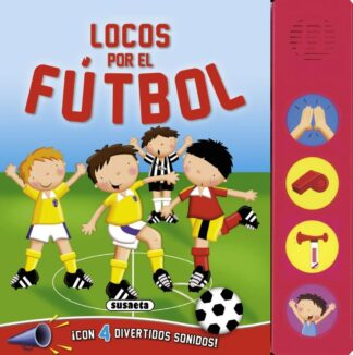 Portada LOCOS POR EL FUTBOL -  - SUSAETA