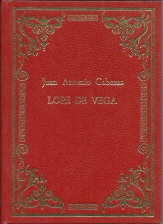 Portada LOPE DE VEGA - JUAN ANTONIO CABEZAS - NUEVAS EDITORIALES UNIDAS