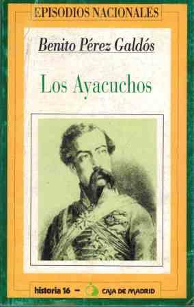 Portada LOS AYACUCHOS - BENITO PEREZ GALDOS - HERNANDO