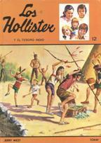 Portada LOS HOLLISTER Y EL TESORO INDIO - JERRY WEST - TORAY