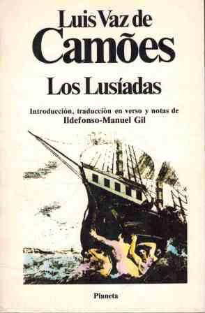 Portada LOS LUSIADAS - LUIS VAZ DE CAMOES - PLANETA