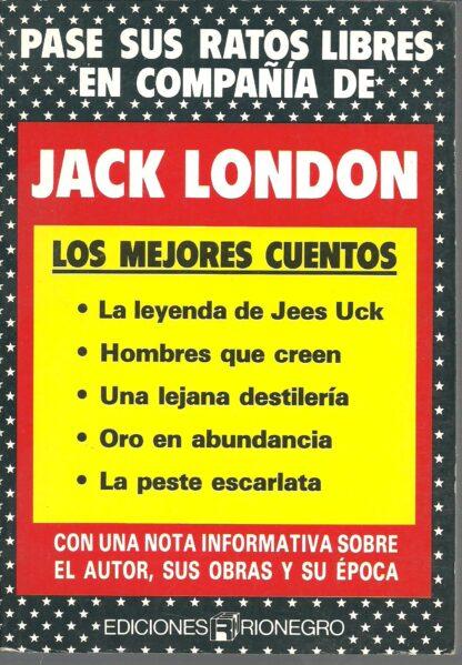 Portada LOS MEJORES CUENTOS - JACK LONDON - RIONEGRO