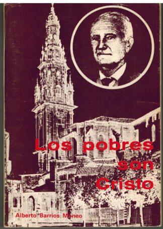 Portada LOS POBRES SON CRISTO - ALBERTO BARRIOS MONEO - COCULSA