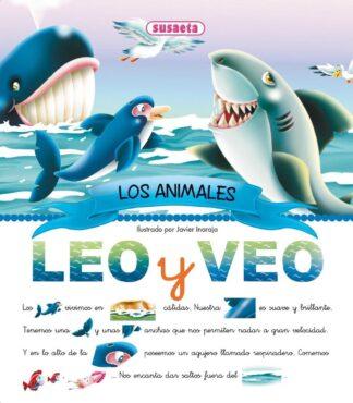 Portada LOS ANIMALES ( LEO Y VEO) - EQUIPO SUSAETA - SUSAETA