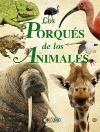 Portada LOS PORQUES DE LOS ANIMALES - VARIOS AUTORES -
